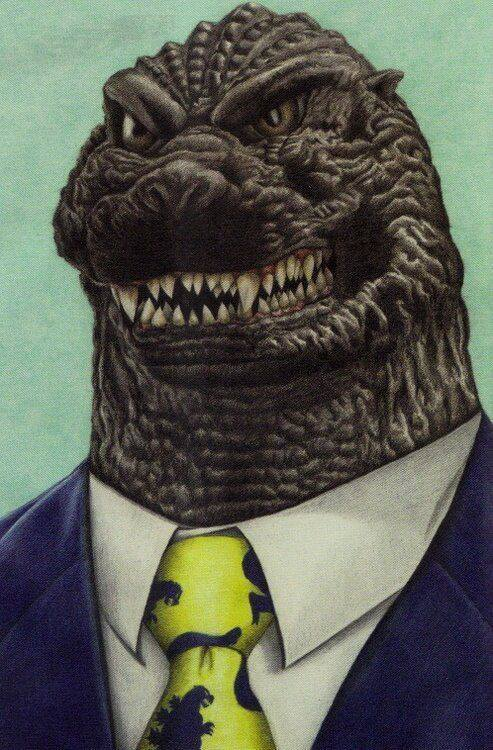 Godzilla- 2016 - artist Jim Strate and first appeared in G-FAN magazine.