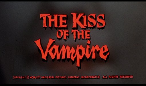 Kiss Vampire title
