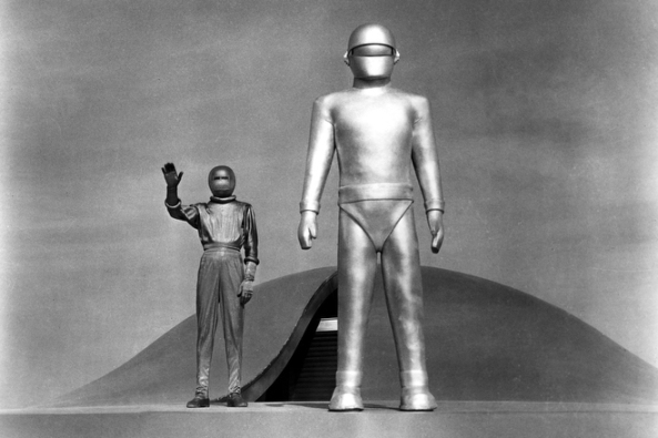 THE DAY THE EARTH STOOD STILL, Michael Rennie, 1951, TM & Copyright (c) 20th Century Fox Film Corp. All rights reserved. CREDIT: Everett Collection
