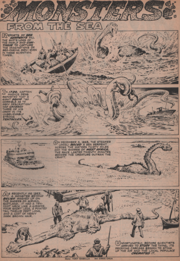 """Monsters Unleashed Annual 1, 1975 """"Super Annual Issue"""" 