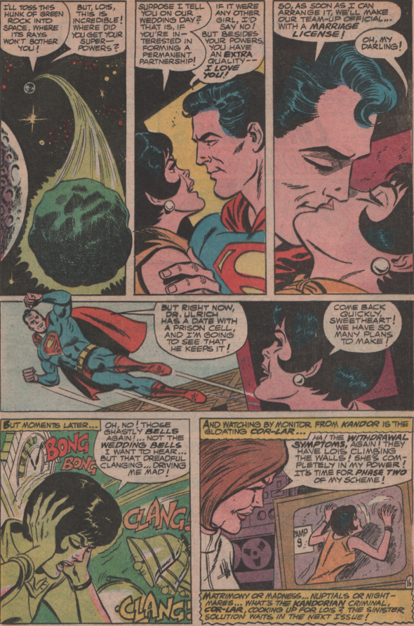 "Superman's Girlfriend Lois Lane 85, 1968 ""When Lois was more"